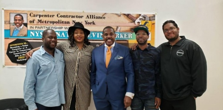 Senator Parker Hosts Apprentice Workshop In Partnership With The Carpenter Contractor Alliance of Metropolitan New York