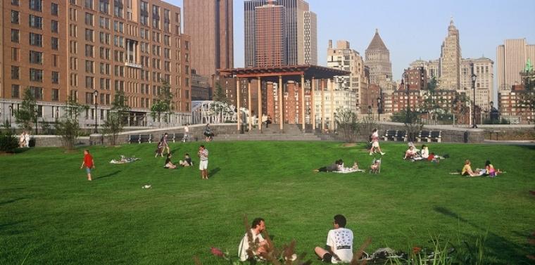 Rockefeller park