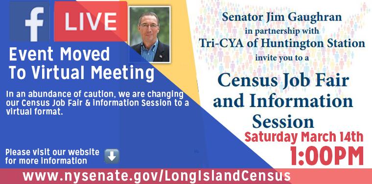 Census 2020 event