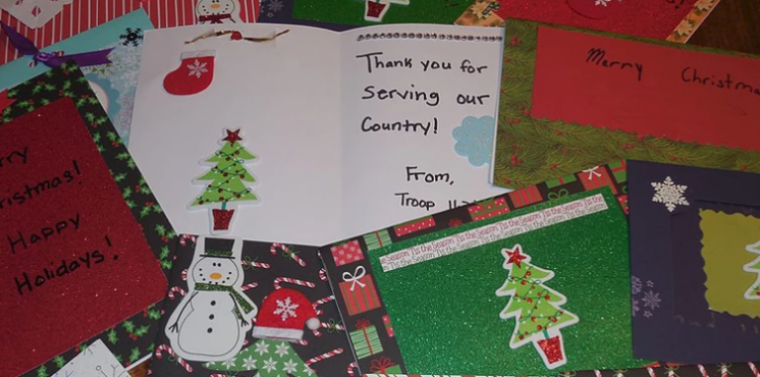 Help Send Christmas Cheer To Our Troops