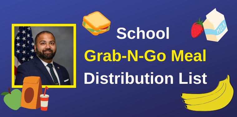 Local School Grab-N-Go Meal Distribution List