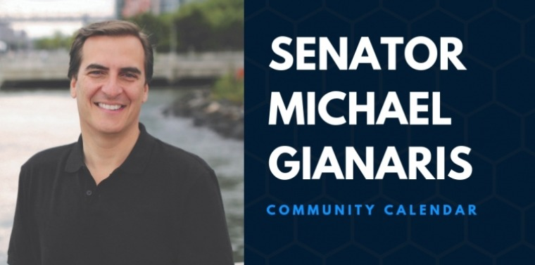 Senator Gianaris' community calendar