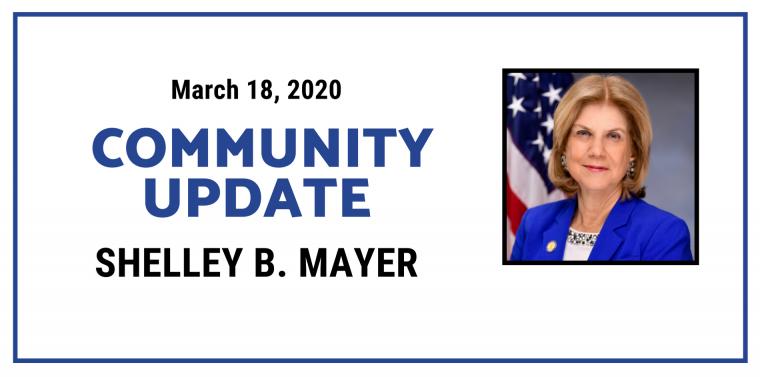 Community Update, march 18th 2020