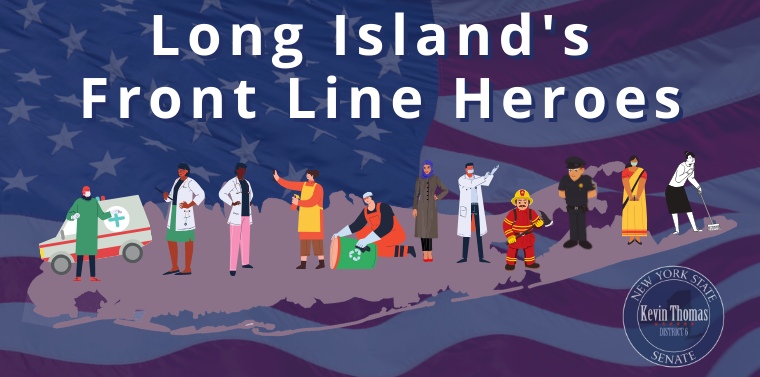 Long Island's Front Line Heroes Banner