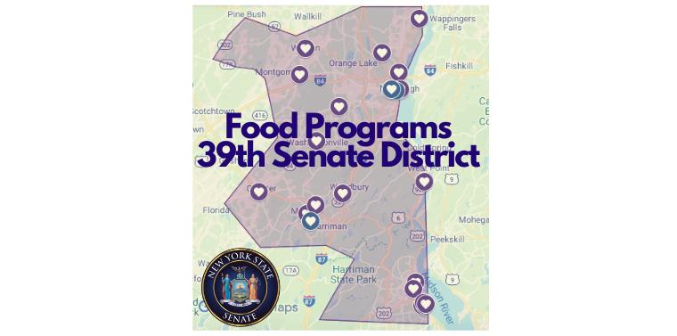 Interactive Food Program Map