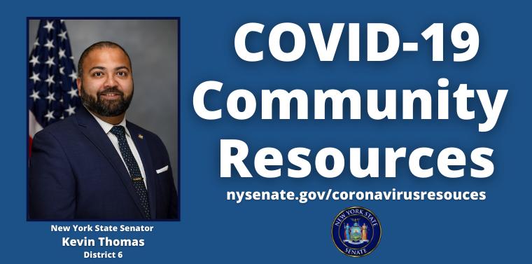 Senator Kevin Thomas' COVID-19 Community Resource Page