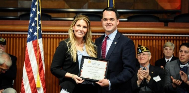 Sen  Carlucci Honors Marine Cpl  Megan Leavey & Sgt  Rex | NY State