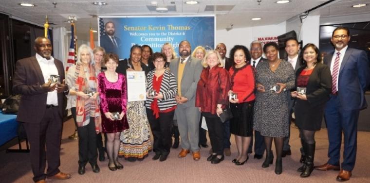Senator Kevin Thomas honors 20 Community Members