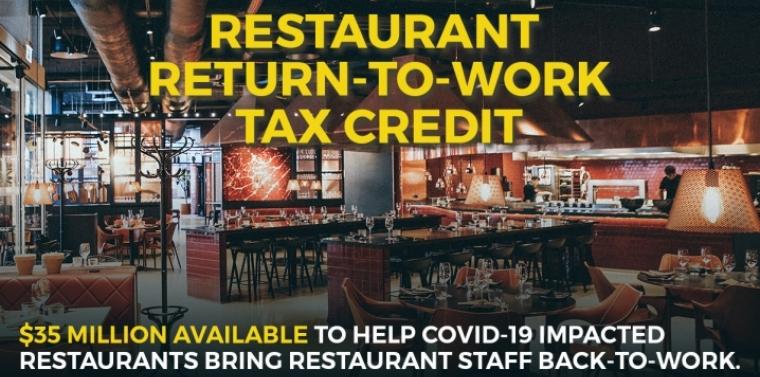 Restaurant Return To Work Tax Credit