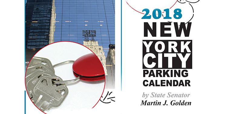 NYC Parking Calendar 2018 | NY State Senate