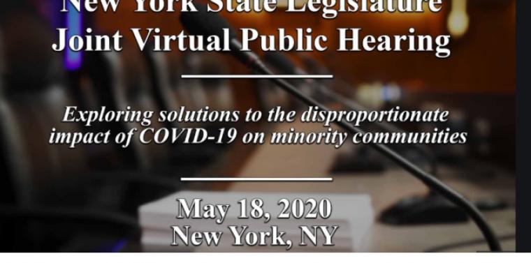 Hearing May 18, 2020