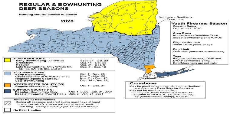Regular deer hunting season in the Southern Zone starts on Saturday.