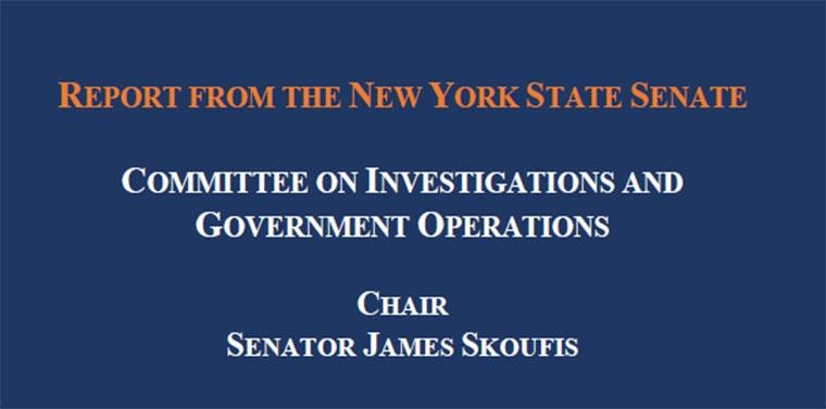 NYS Senate IGO Committee Report - Live Event Ticketing Practices