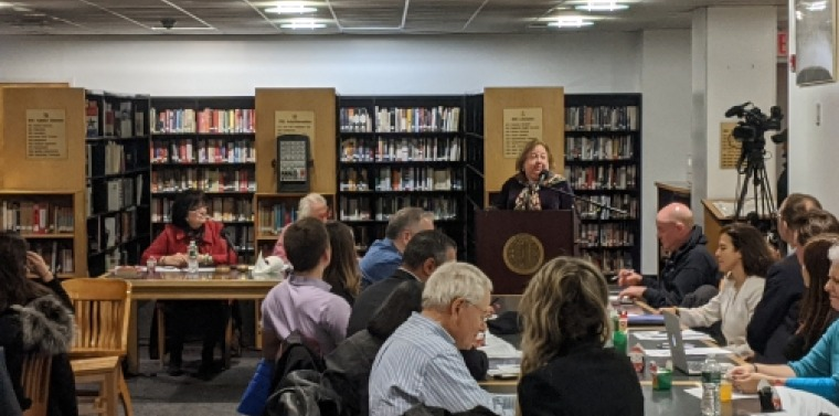 Sen. Krueger Speaks To Community Board 5