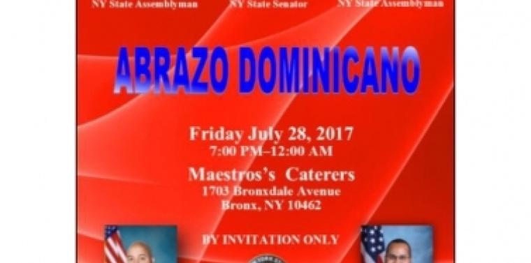 """ABRAZO DOMINICANO EN NEW YORK""  HONRARA LIDERES DOMINICANOS"