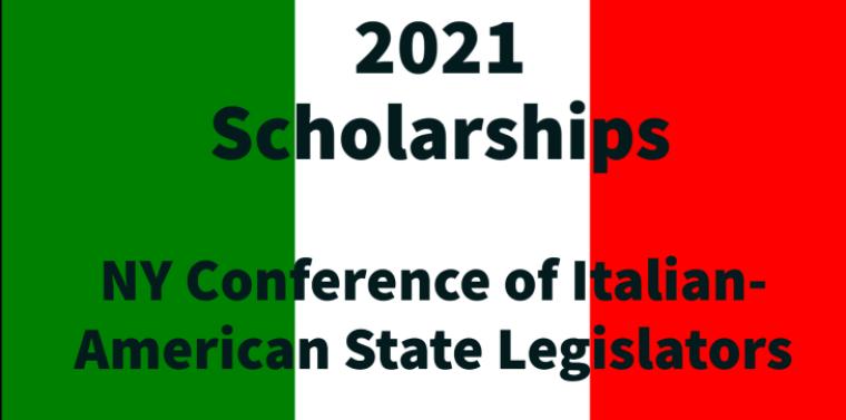Italian American Scholarship 2021