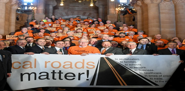"""""""The improvement and upkeep of local roads and bridges is a wise use of taxpayer dollars,"""" the area lawmakers said."""