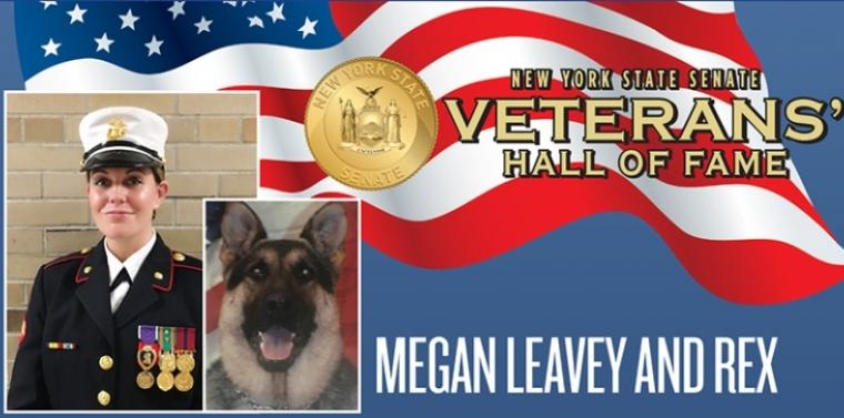 Megan Leavey and Rex | NY State Senate