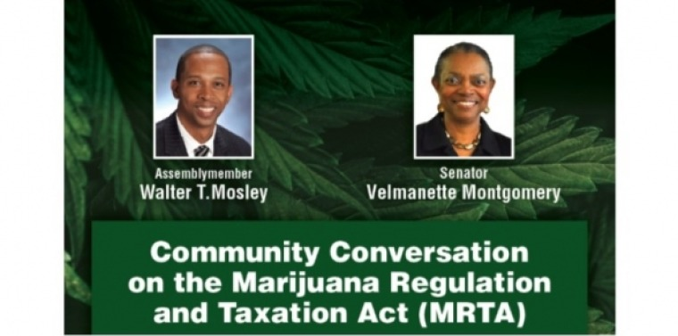 Community Conversation on the Marijuana Regulation and Taxation Act (MRTA)