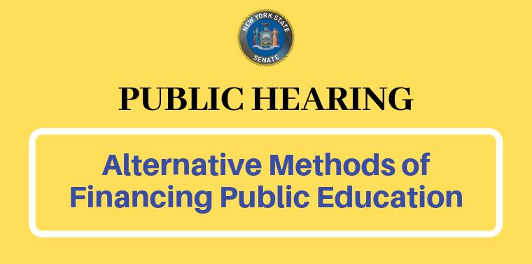 alternative methods of funding public education