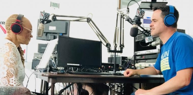 Watson and Carlucci Host Radio Show