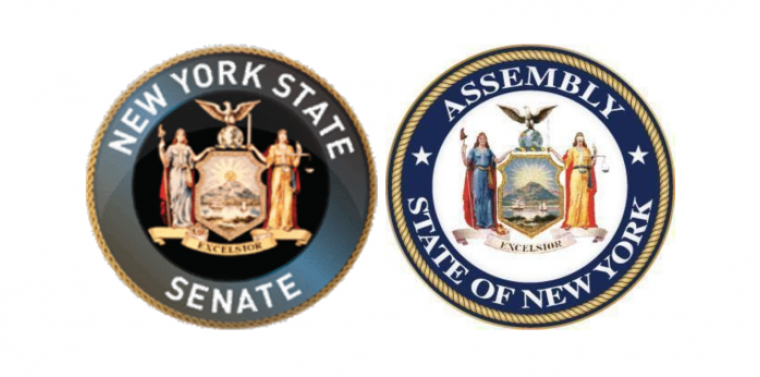 Seals from Senate and Assembly