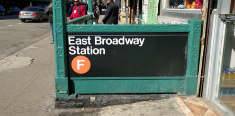 F Train East Broadway Station