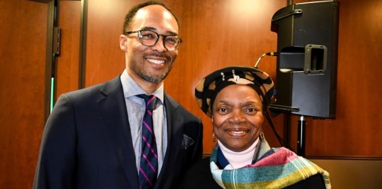 Senator Montgomery honors Dr. Robert Gore, 2018 CNN Hero