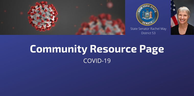 Senator May COVID-19 Resource Page