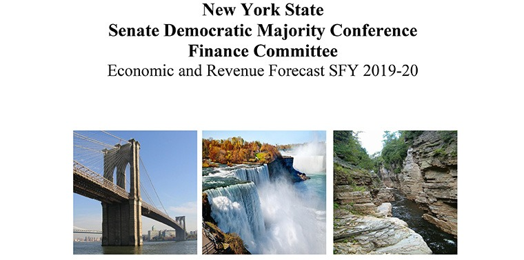 New York State Senate Democratic Majority Conference Finance Committee Economic and Revenue Forecast SFY 2019-20