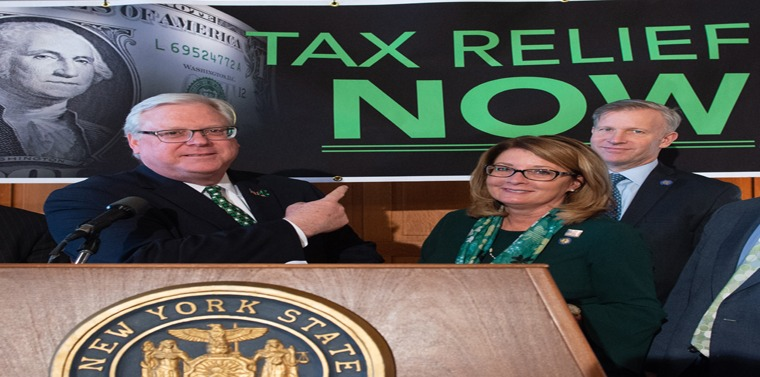 """We cannot risk taxing, spending, regulating, and mandating New Yorkers to death, but here we go,"" said Senator O'Mara."