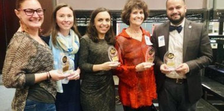 Serrano Receives Arts Award