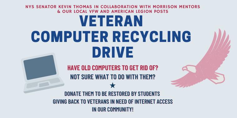 Veteran Computer Recycling Drive