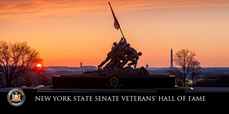 """So many veterans served our nation courageously and honorably, and then returned home to lift the lives of our local communities,"" said Senator O'Mara."