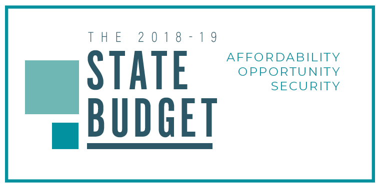 Senate Completes Passage of 2018-19 State Budget