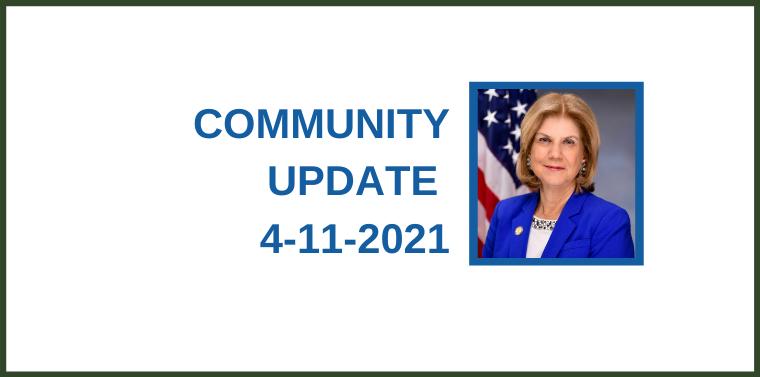 Community Update 4-11-2021