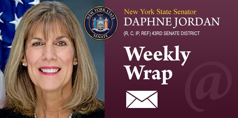 Senator Jordan's Weekly Wrap
