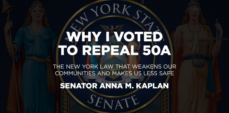 Why I Voted to Repeal 50a
