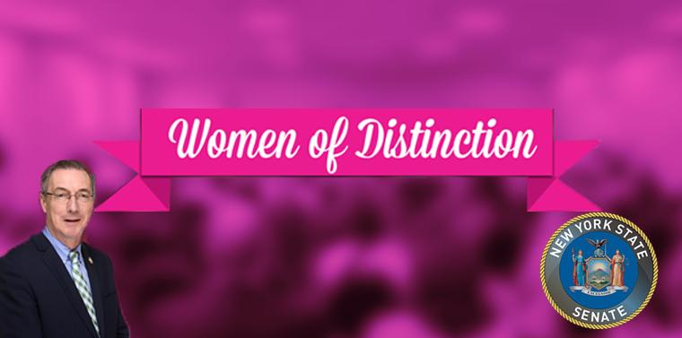 Senator Gaughran's 2020 Women of Distinction.