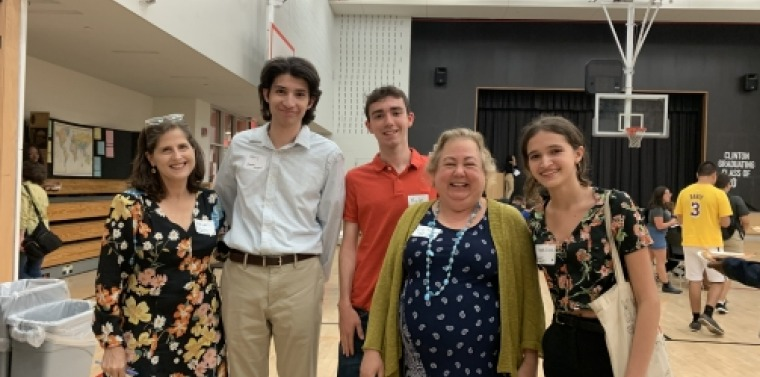 Sen. Krueger and interns at the YVote Town Hall