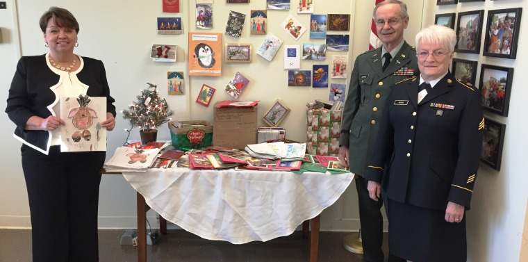 Help Me Send Christmas Cards to Our Troops | NY State Senate