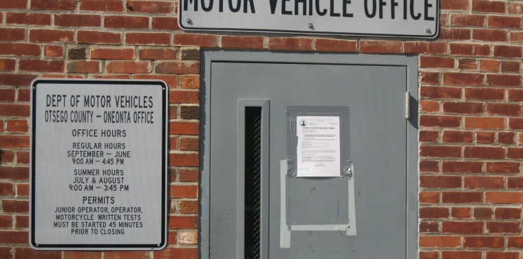 Nys dept of motor vehicles permit test for Department of motor vehicles brooklyn ny