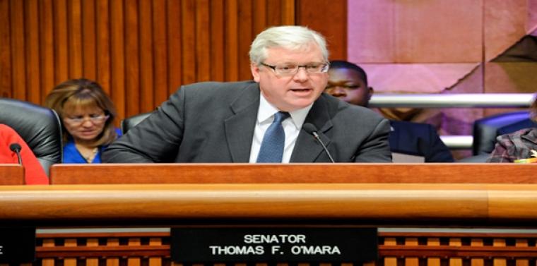 Senator Looks To Ease Burden For >> O Mara To Governor Sign Critical Mandate Relief Legislation And