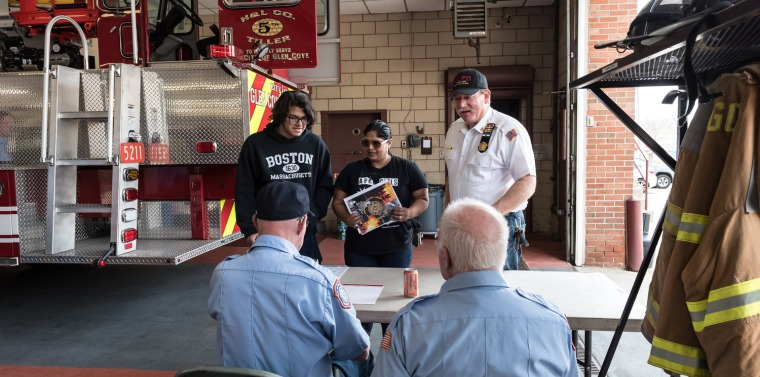 Volunteer Recruitment Day at the Glen Cove Fire Department | NY