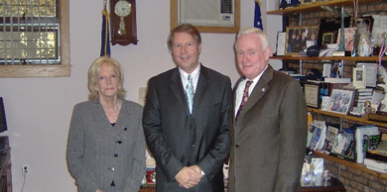 Senator Marty Golden Meets With Head Of The Women's Breast