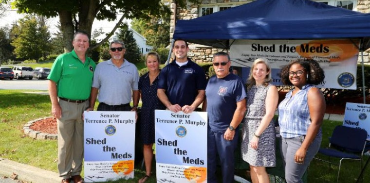 Senator Murphy was joined by officials from Beekman at his annual Shed the Meds event.