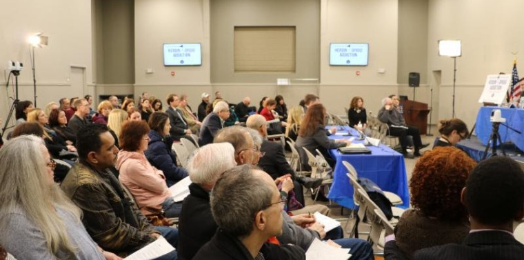 2018 Heroin Task Force A packed crowd at Wilcox Hall at Pace University heard compelling testimony on sober homes in New York State.