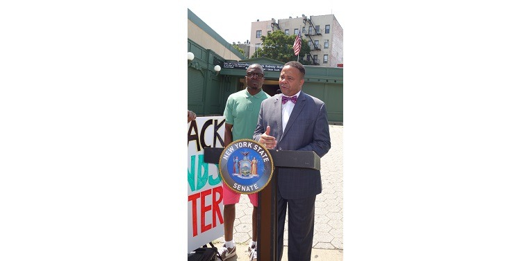 Senator Jesse Hamilton Announces 911 Anti-Discrimination, Anti