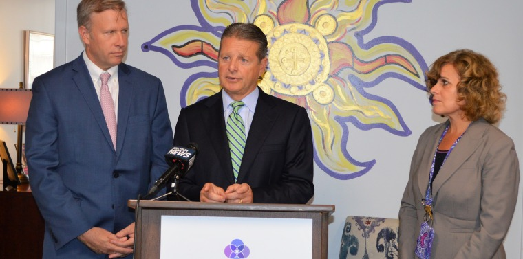 Senator Gallivan Announces Funding For The Family Justice Center