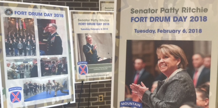 Ritchie: Fort Drum Troops Highlighted Through New Exhibit in